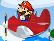 Play Mario Plane Rescue game