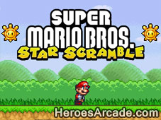 Mario Star Scramble game