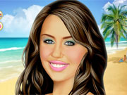 Play Miley Makeover game