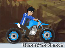 Monsuno Bike Challenge game