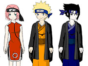Play Naruto Dress Up Characters game