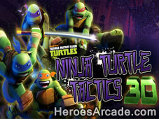 Ninja Turtle 3D Tactics game