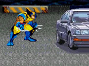 Play Wolverine Car Smash game