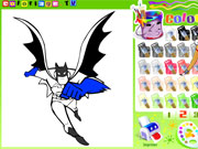 Paint Batman 3 game