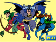 Play Paint Batman game