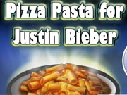 Pizza Pasta For Justin Bieber game
