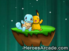 Pokemon Pikachu Jungle World game
