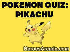 Pokemon Quiz Pikachu game