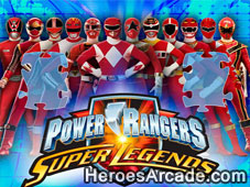 Power Rangers Super Legends Jigsaw Puzzle game