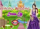 Play Princess Wedding Dress Up game