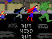Play Run Hero Run game