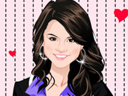 Play Selena Gomez Dress Up Game game