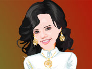 Play Selena Gomez Dressup 1 game
