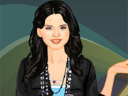 Play Selena Gomez Dressup game