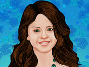 Selena Gomez Makeover Game game