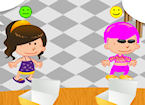 Play Serving Cookies To Kids game