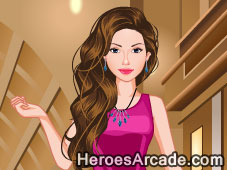 Shopping dress up game