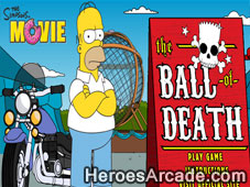 Simpsons Ball of Death game