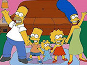 Play Simpsons Home Interactive game