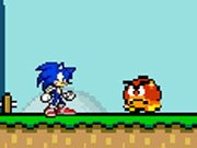 Play Sonic in Mario World 2 game