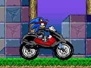 Sonic Ninja Motobike game