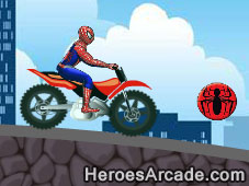 Play Spiderman Super Bike game