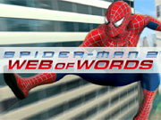 Play Spiderman Web of  Words game