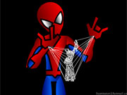 Spiderman Webart