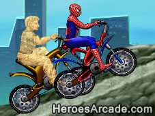 Play Spidey vs Sandman game