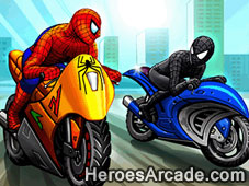 Play Spidy Racer game
