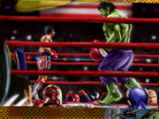 Spin'n Set Hulk Boxing game