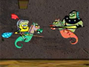 Play Spongebob And Dragons game