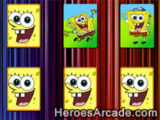 Spongebob Card Fun game