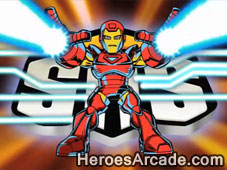 Super Hero Squad Fractal Frenzy game