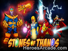 Play Super Hero Squad Stones Of Thanos game
