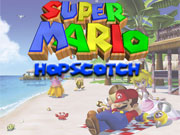 Super Mario Hopscotch game