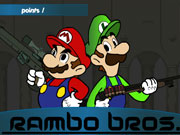 Super Mario Rambo Bros game