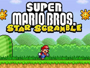 Super Mario Star Scramble game