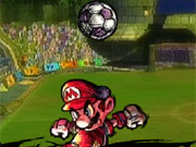 Super Mario Strikers game