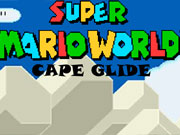 Super Mario World Cape Glide game