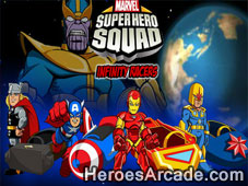 Play SuperHero Squad Infinity Racers game