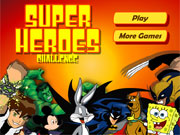 Play Superheroes Challenge game