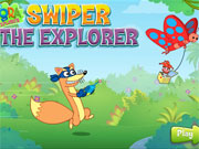 Swiper The Explorer game