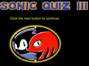 Play Sonic Quiz 3 game