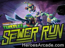 Teenage Mutant Ninja Turtles Sewer Run game