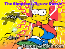 The Simpsons Jigsaw Puzzle game