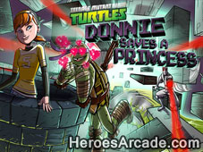 TMNT Donnie Saves A Princess