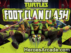 TMNT Foot Clan Clash game