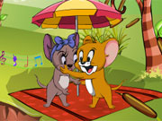 Tom And Jerry Kissing Game game