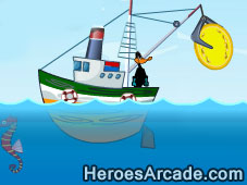 Play Treasure hunter in the sea
